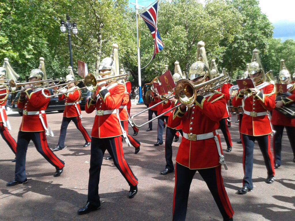 Cestou k Buckinghamskému paláci