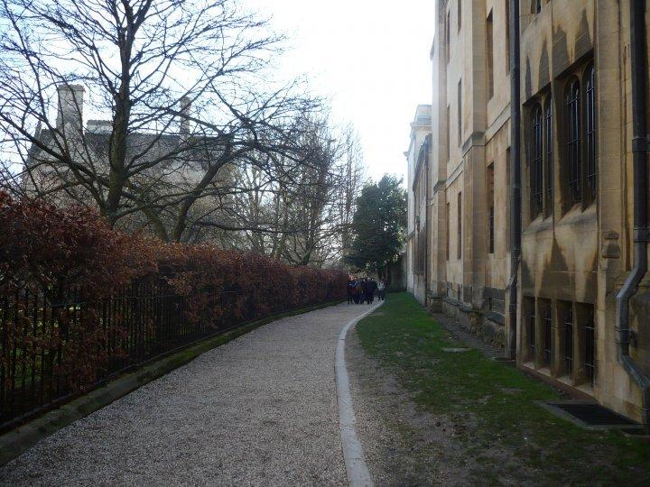 Oxford univerzita cesta