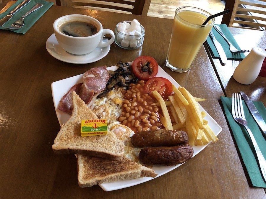Anglická snídaně basic