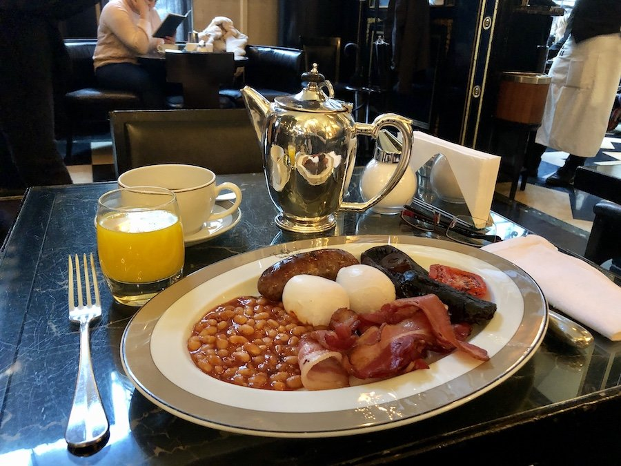 Top anglická snídaně