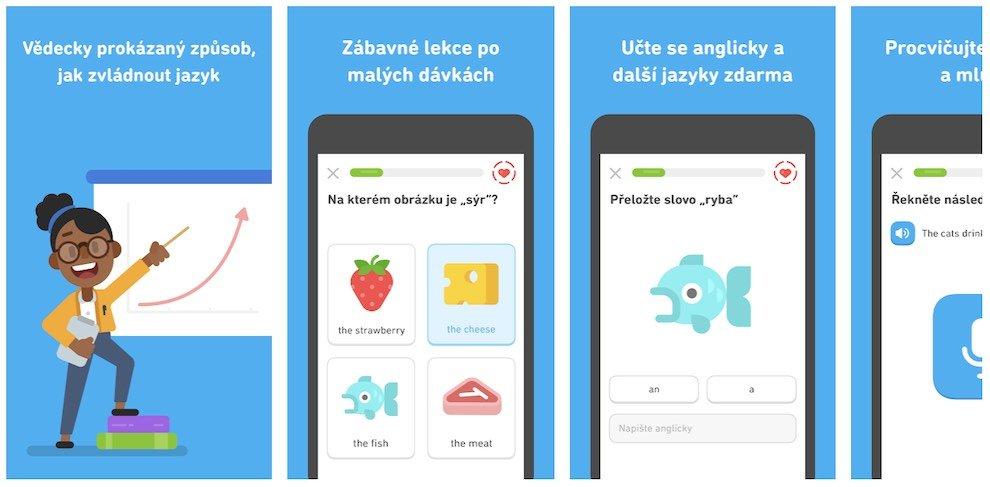 Duolingo - aplikace na angličtinu