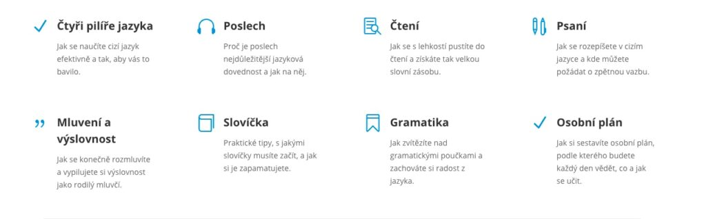 Jazyky od píky, technika učení online jazyků od 0