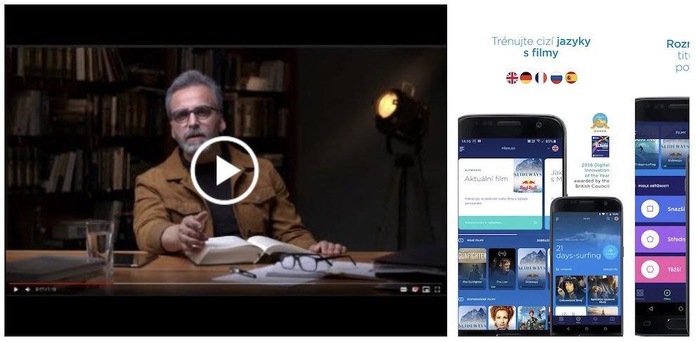 Mooveez - aplikace na angličtinu