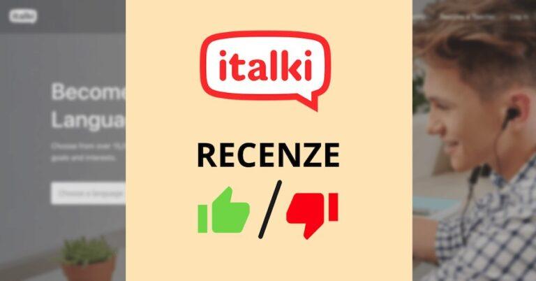 italki recenze