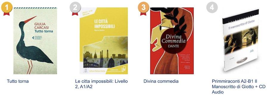 Knihy v italštině