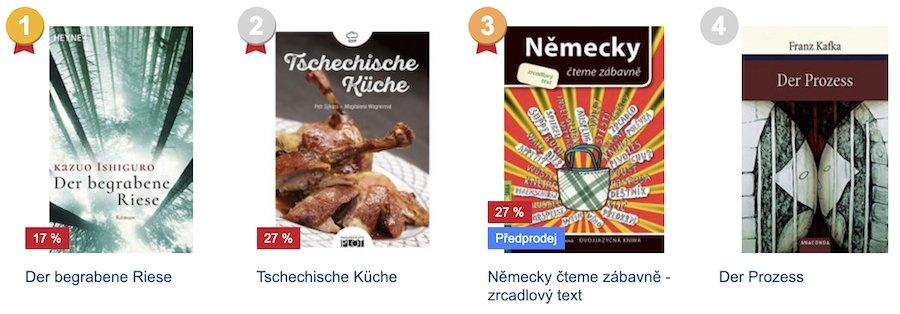 Knížky v němčině