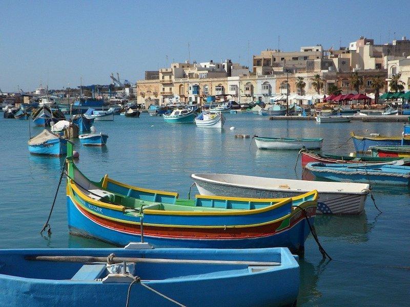 Malta lodičky