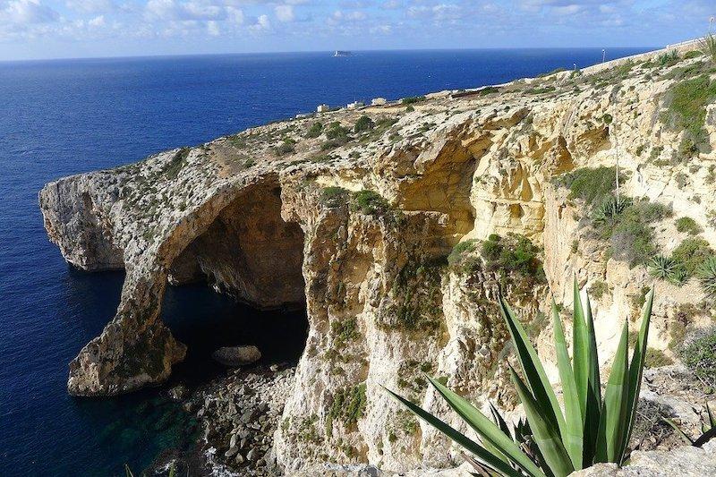 Malta útesy
