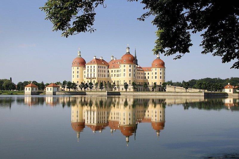 Německo zámek