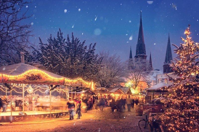 Německo vánoční trhy