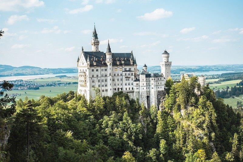 Německo zámky