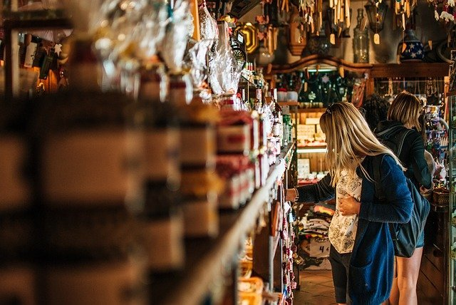 Španělsko nakupování