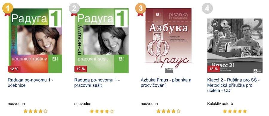 učebnice ruštiny