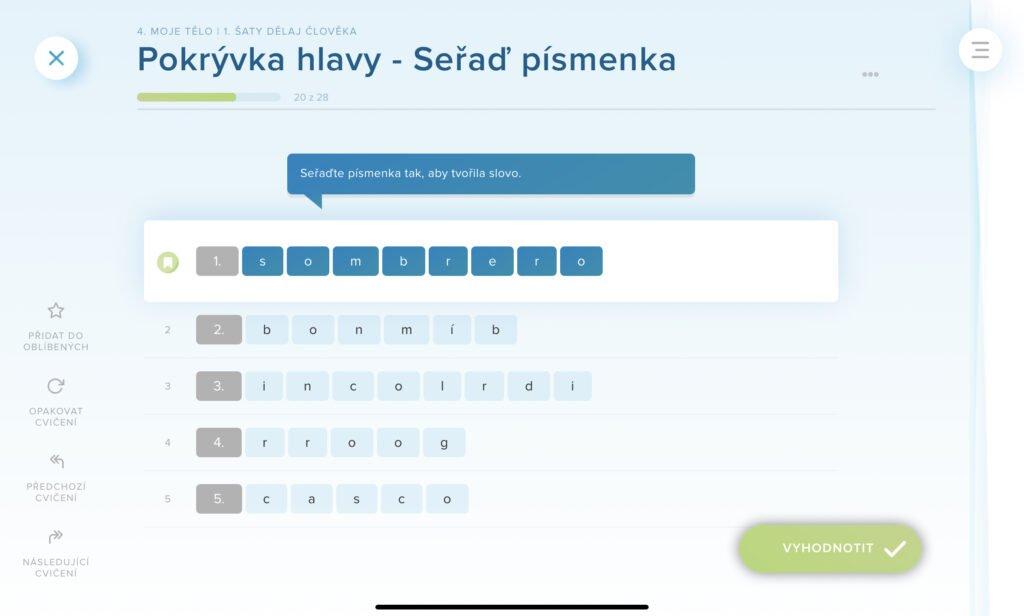 Cvičení onlinejazyky